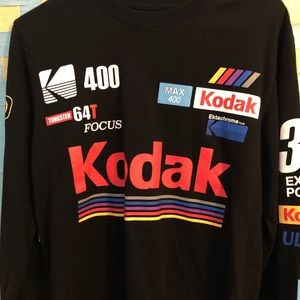 Long sleeve Kodak forever 21 shirt